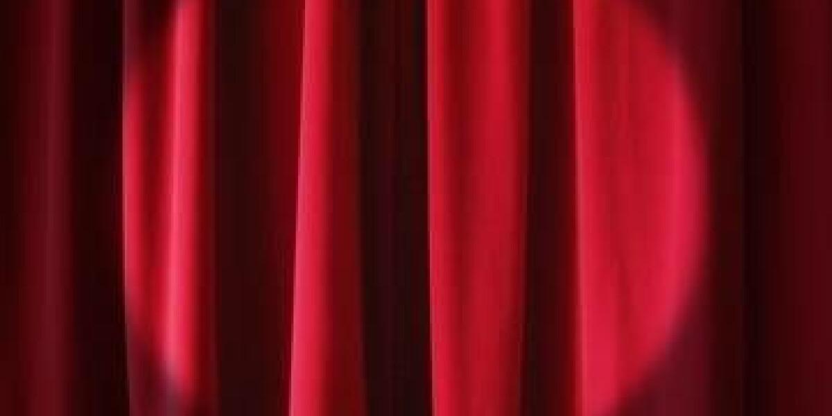 Vorhang mit Spot