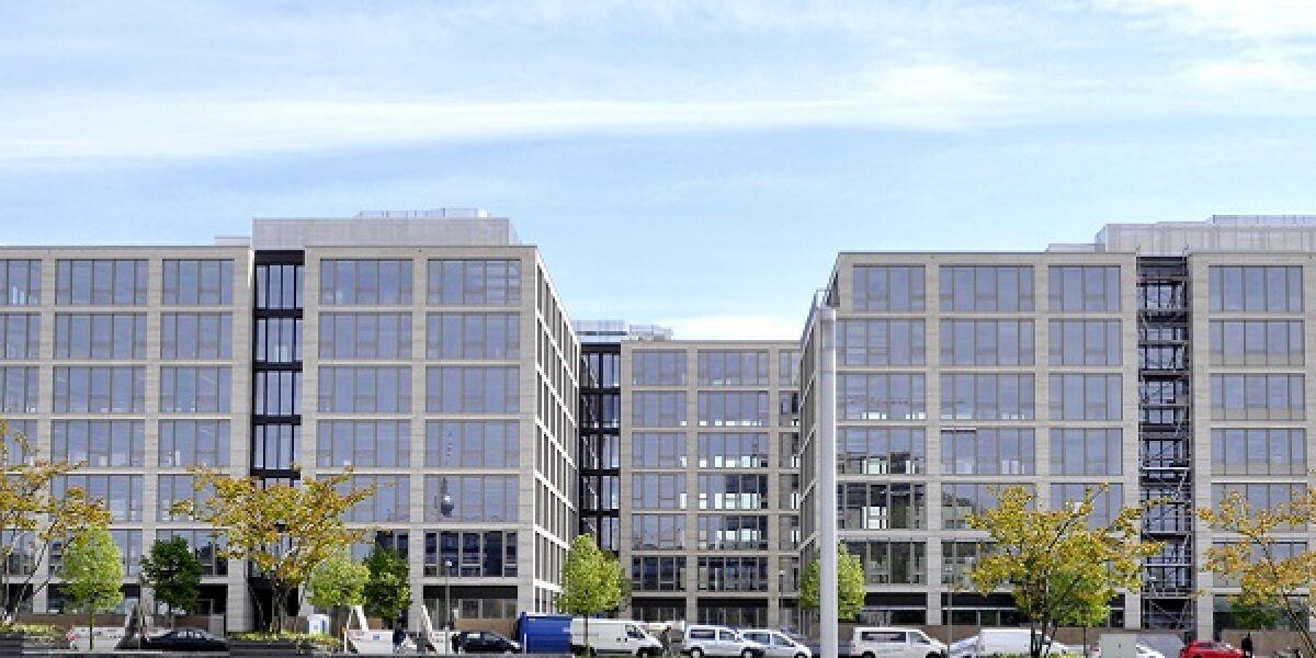 Zalando-hauptquartier in Berlin