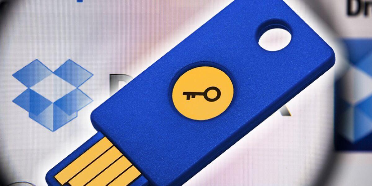 Dropbox mit USB-Token sichern