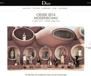 Website von Dior