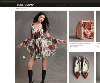 Website von Dolce