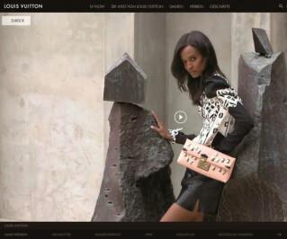 Website von Louis Vuitton