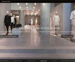 Website von Valentino