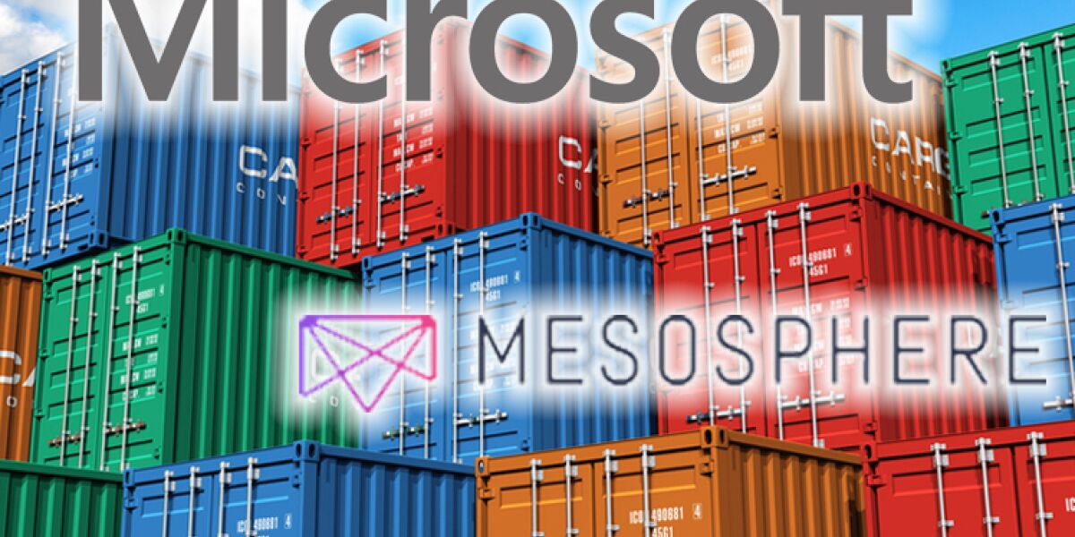 Microsoft interessiert an Container-Firma Mesosphere