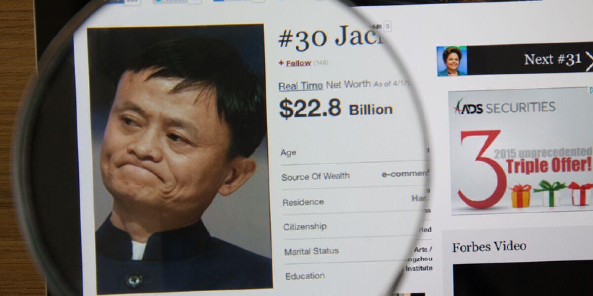Jack Ma unter der Lupe