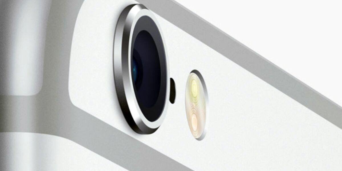 Die Kamera des iPhone 6 plus