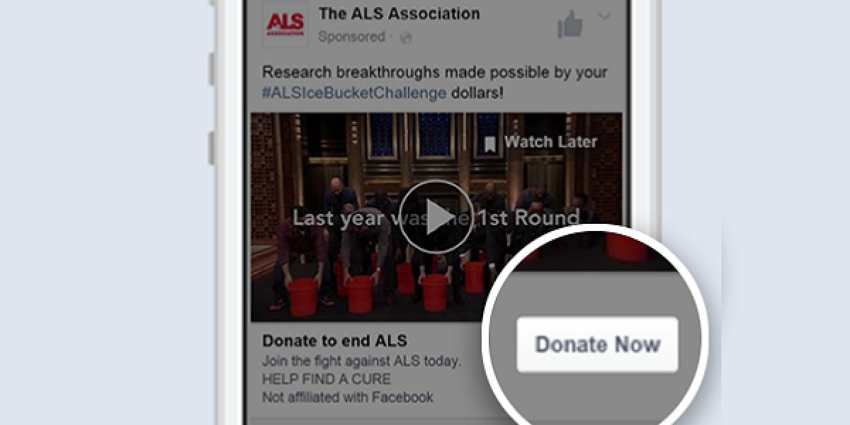 Faßebook Spenden-Button