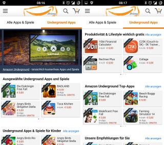 Amazon Underground App-Shop