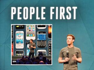 Mark Zuckerberg auf der f8-Konferenz
