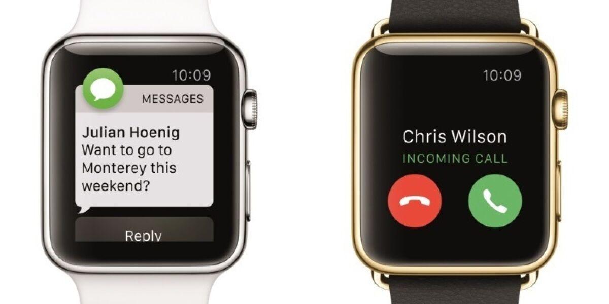 Die Apple Watch verkauft sich gut