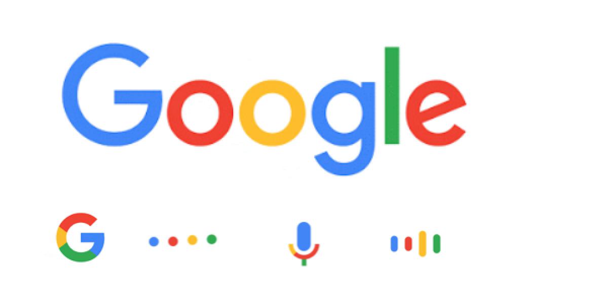 Die neuen Google-Logos von 2015
