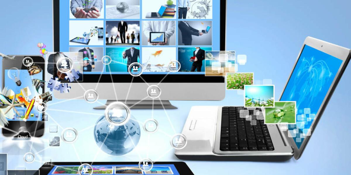 Smartphone, Tablet, TV und Laptop