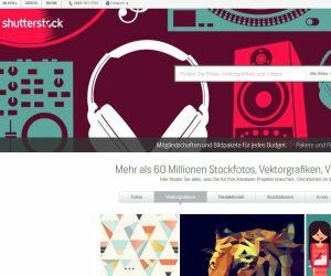 screenshot shutterstock