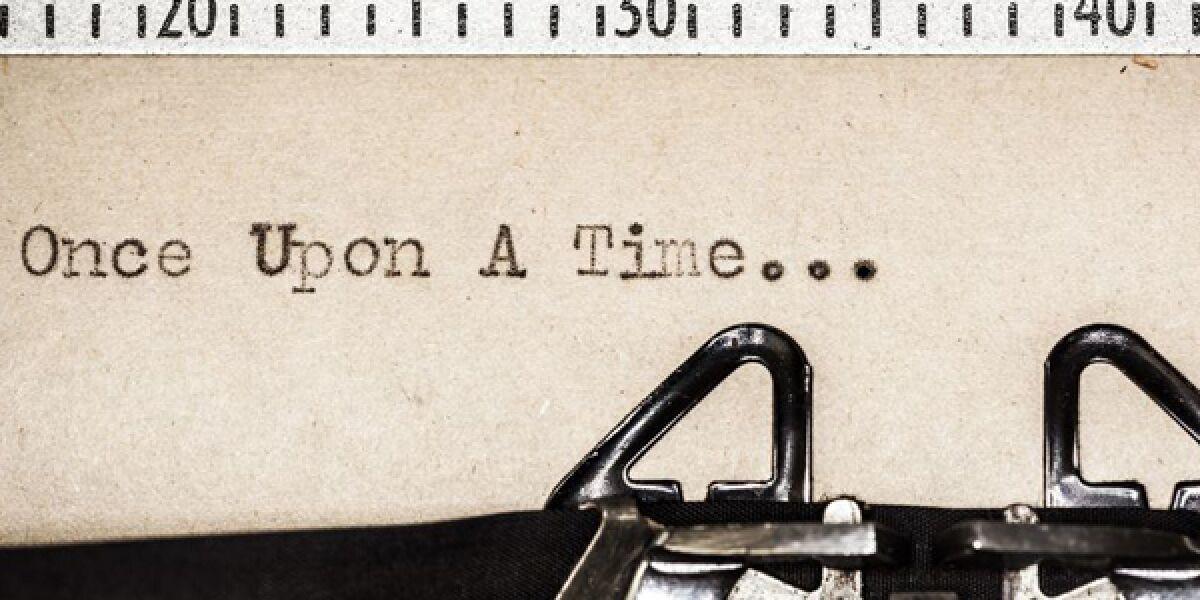 Text auf einer Schreibmaschine