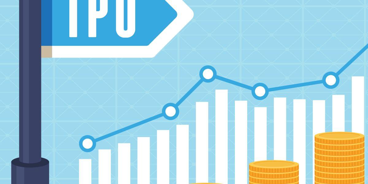 Grafik zum Börsengang