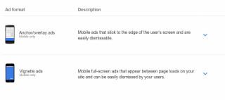 Neue Werbeformate bei Google Adsense