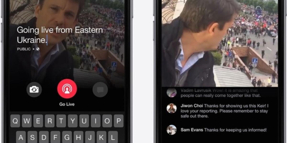 Live-Stream mit der Mentions App