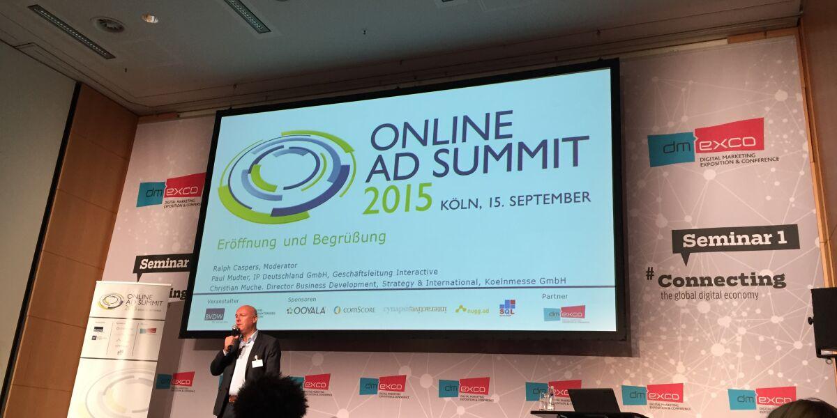 Online Ad Summit 2015