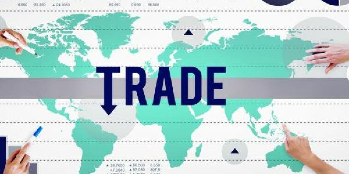 Handel international Grafik