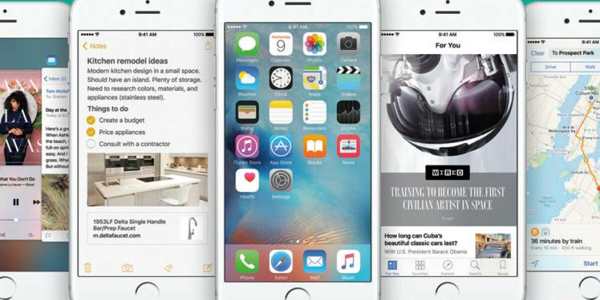 Alles über iOS 9
