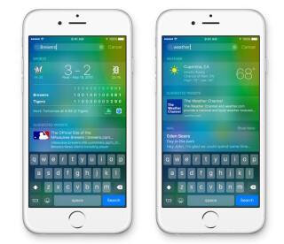 Die neue Suchfunktion von Apple