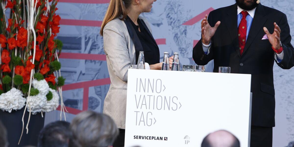 Nina Eichinger und Satjiv S. Chahil