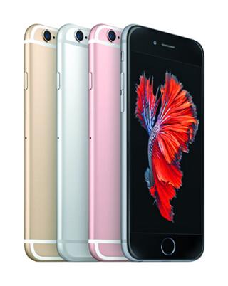 iPhone 6 in verschiedenen Farben