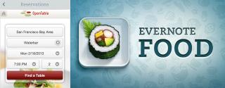 Eingestelltes Evernote Food