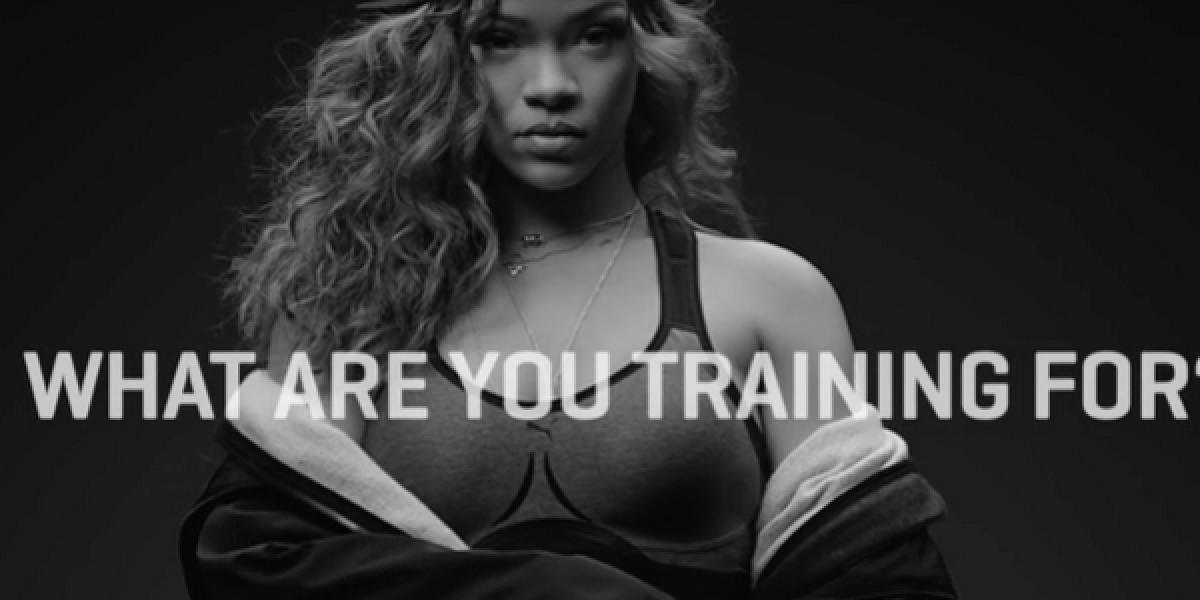 Sängerin Rihanna als Puma-Testimonial