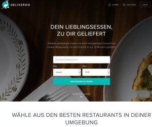 Website Deliveroo