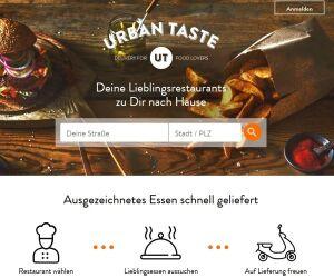 Website Urban Taste