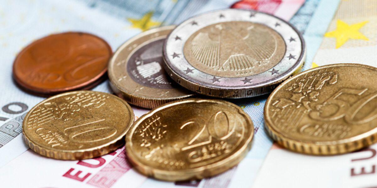 Euro-Münzen-und-Scheine