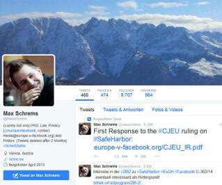 Max Schrems Twitter