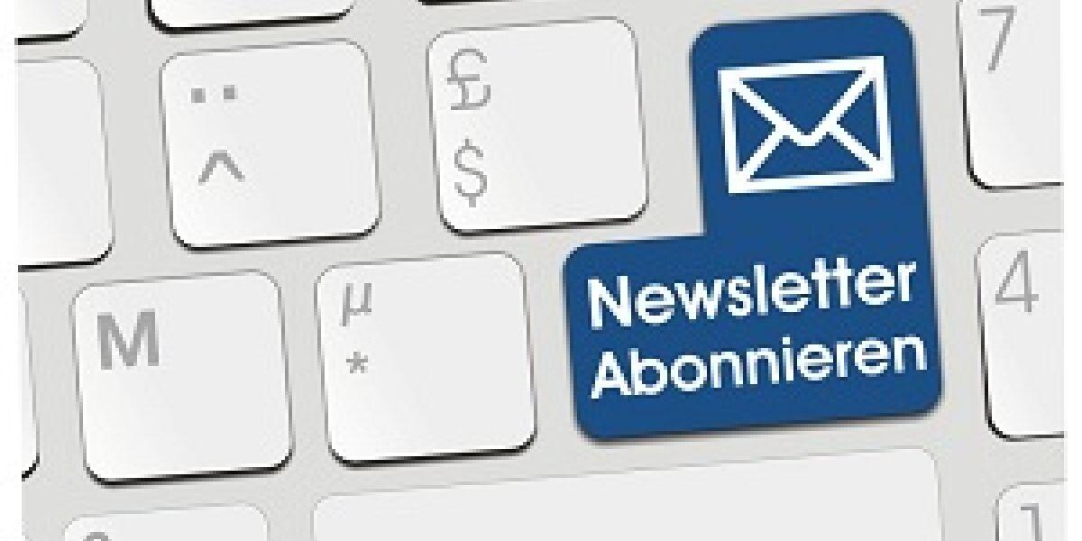 Newsletter auf Pc-tastatur