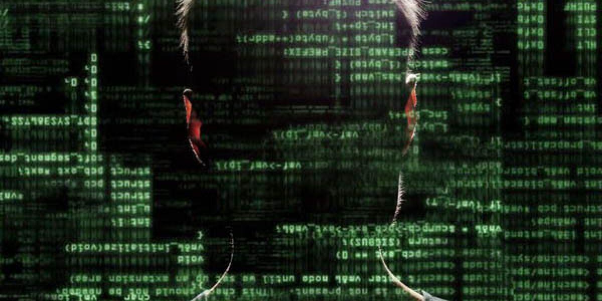 Mann mit Daten