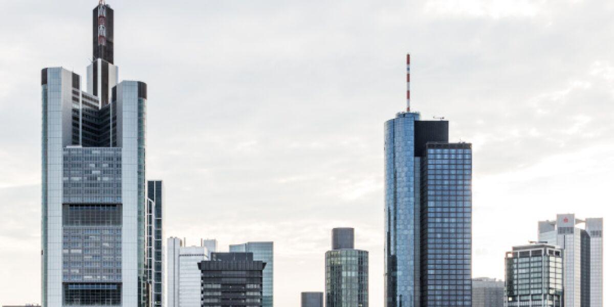 Frankfurt Bankenskyline