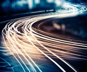 Autolichter Streifen