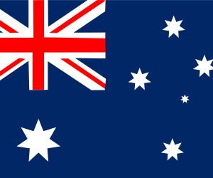 Australien-Flagge