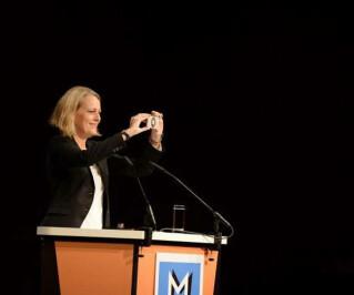 Miriam Meckel auf den Medientagen München
