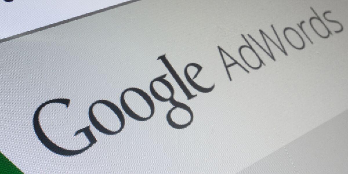 Website von Google AdWords