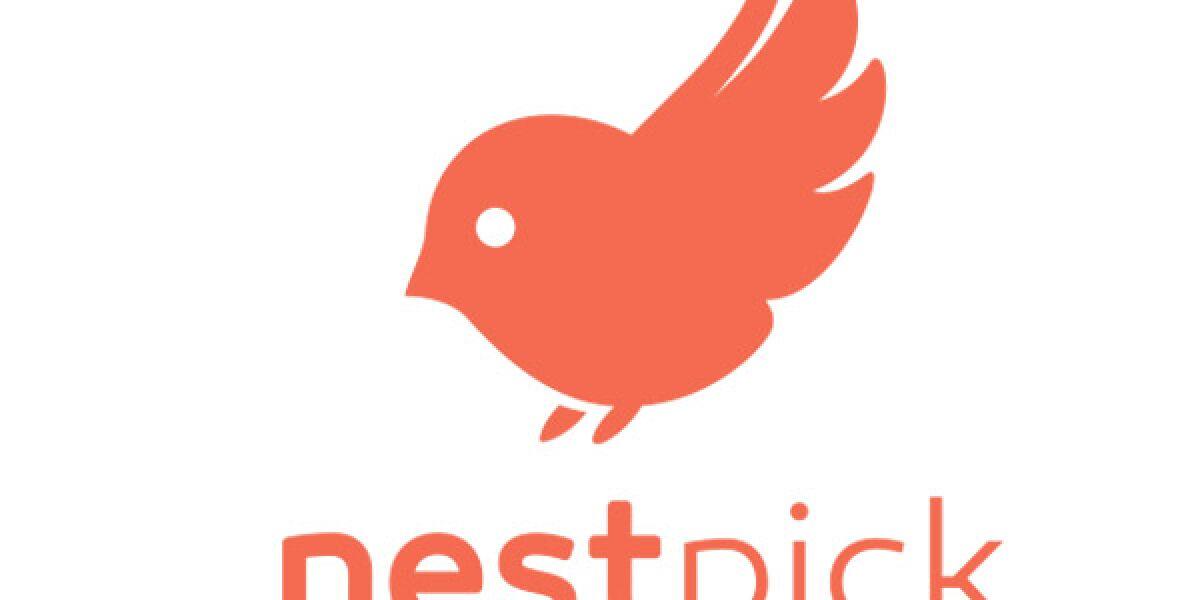 Nestpick-Logo mit Vogel