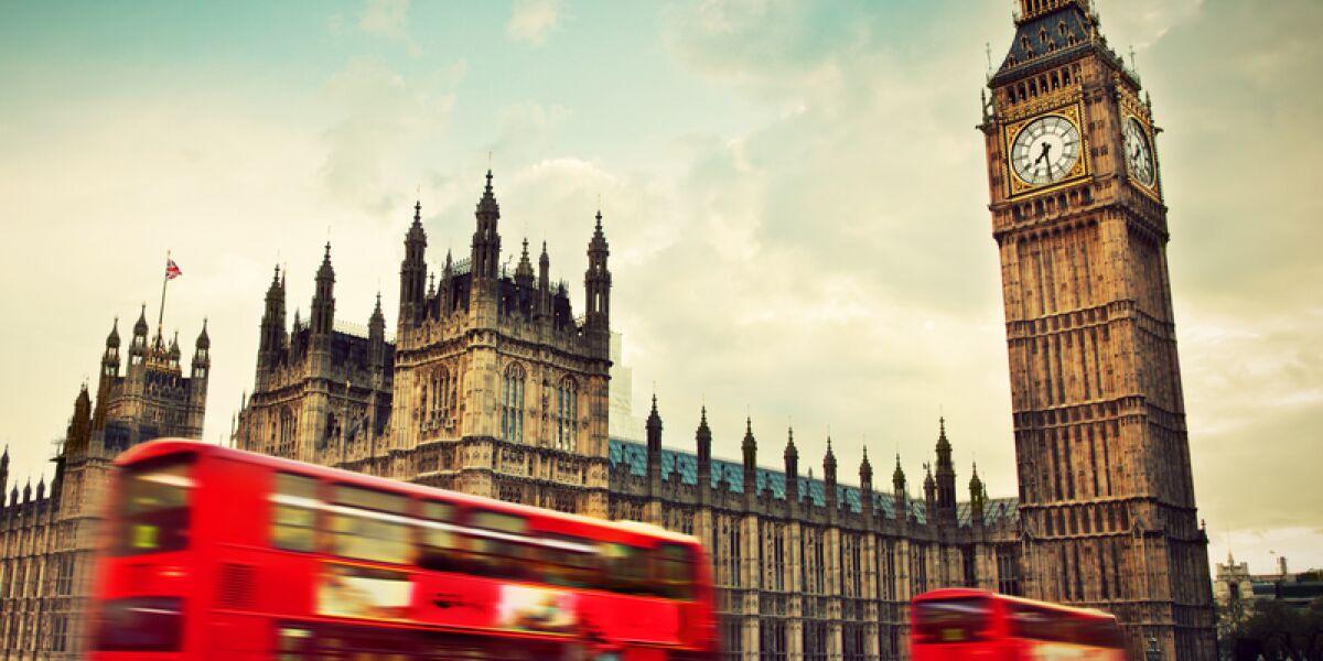 London mit Bus