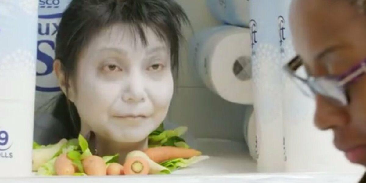 Frau Halloween tesco