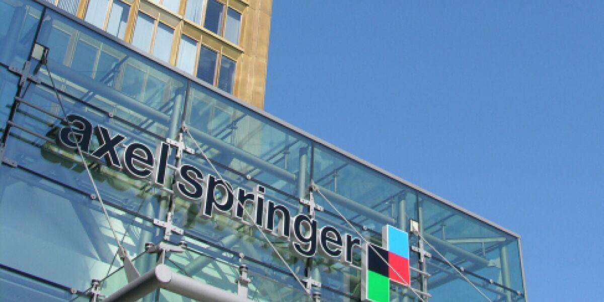 Gebäude von Axel Springer