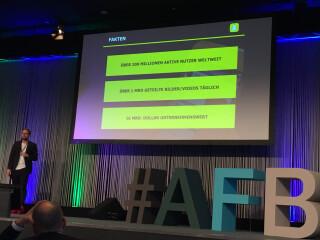 Vortrag zu Snapchat auf der AFBMC