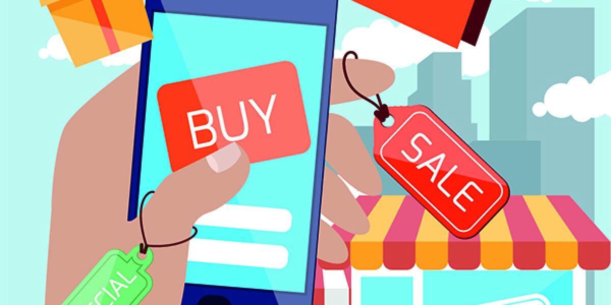 Shopping mit dem Smartphone