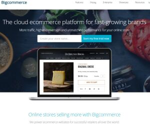 Screenshot Bigcommerce