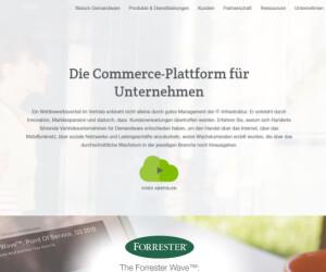 Screenshot Demandware
