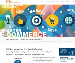 Screenshot IBMCommerce