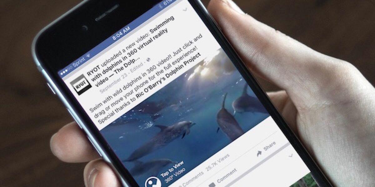 Handy mit Facebook